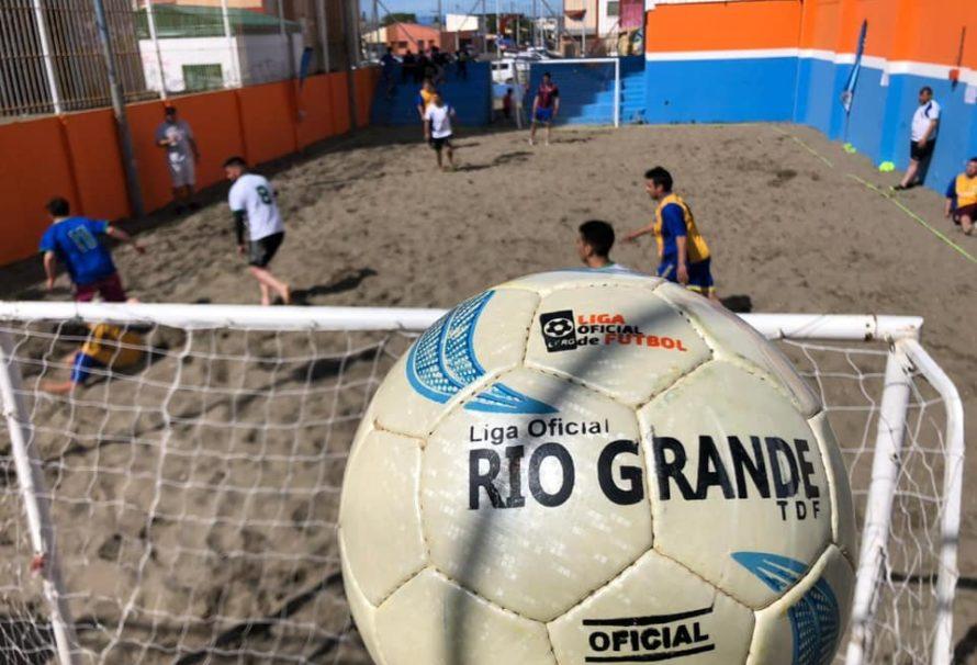 Primera fecha del fútbol playa