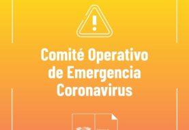 Coronavirus:  Se suspenden todos los eventos públicos e institucionales en la provincia