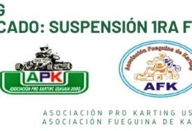 Karting: Se suspendió la 1ra Fecha del Campeonato 2020