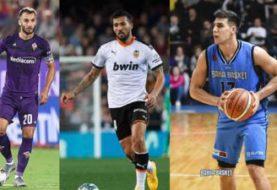 Cinco deportistas argentinos con coronavirus