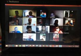 Reunión virtual con los integrantes de la Subsecretaría de Deportes