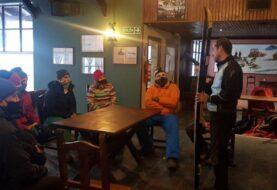 Capacitación a los docentes del IMD en esquí de fondo