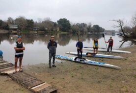 Gualeguaychú recibió al seleccionado femenino de canotaje