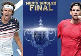 Thiem y Zverev definen el US Open