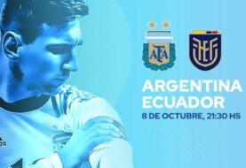 Argentina inicia ante Ecuador su camino hacia el Mundial de Qatar 2022