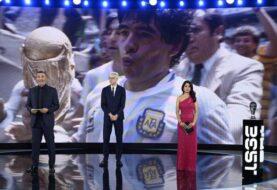 Homenaje a Maradona en los premios The Best