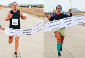 Ernaga y Pintos ganaron el Provincial de 10 kilómetros