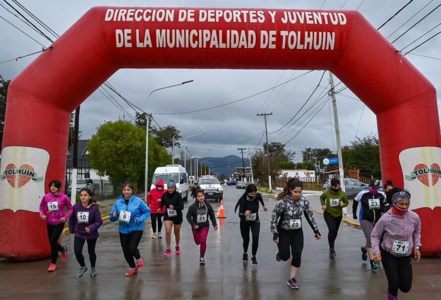 Jornada deportiva en acompañamiento a la lucha de las mujeres