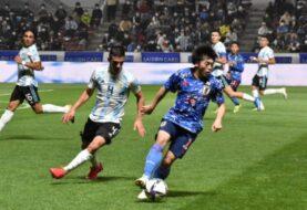 Argentina cayó ante Japón en su segundo amistoso