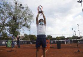 Báez se quedó con el Challenger de Santiago