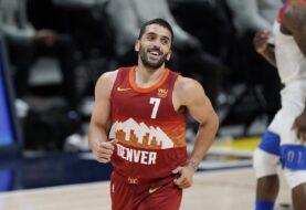 """Campazzo concretó su primer """"doble-doble"""" en la NBA"""