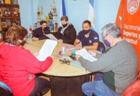 Histórico convenio con el club San Martin