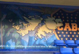 Boca homenajeó a sus 73 socios ex combatientes
