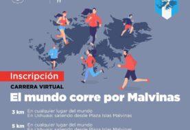 """Se viene la carrera virtual """"El mundo corre por Malvinas"""""""