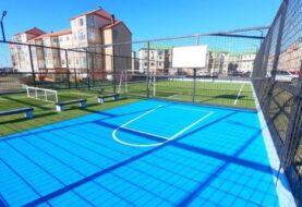 Vecinos y vecinas de Chacra II ya cuentan con un nuevo playón deportivo municipal