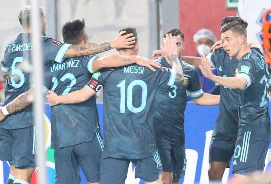 Argentina cayó al octavo lugar