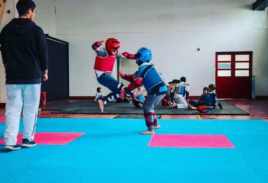 Se realizó el Primer Tope de Taekwondo en Tolhuin