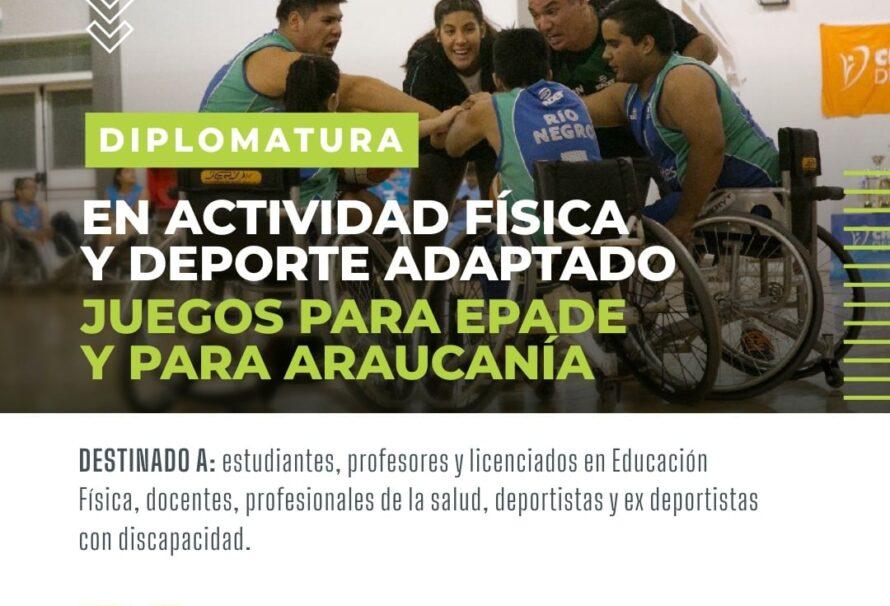 Se creó la Diplomatura sobre Actividad Física y Deporte Adaptado: Juegos PARAEPADE y PARA ARAUCANIA