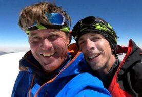 Los alpinistas checos Holeck y Groh lograron descender
