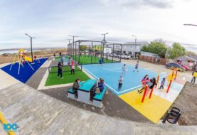 Se inauguró un nuevo Playón Deportivo en Río Grande