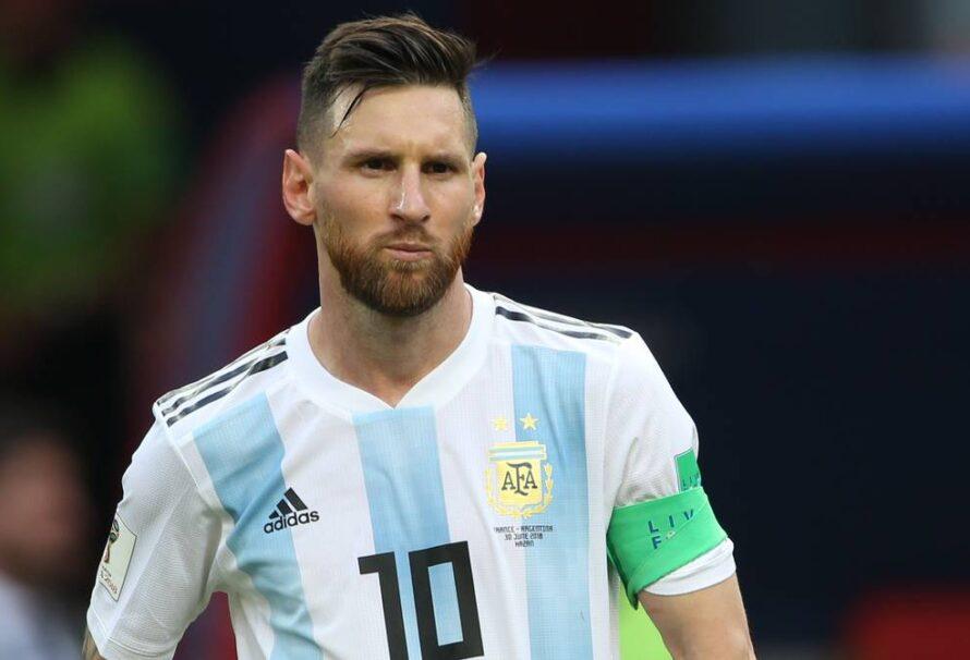 Messi llegó a Argentina para sumarse a la selección en Ezeiza