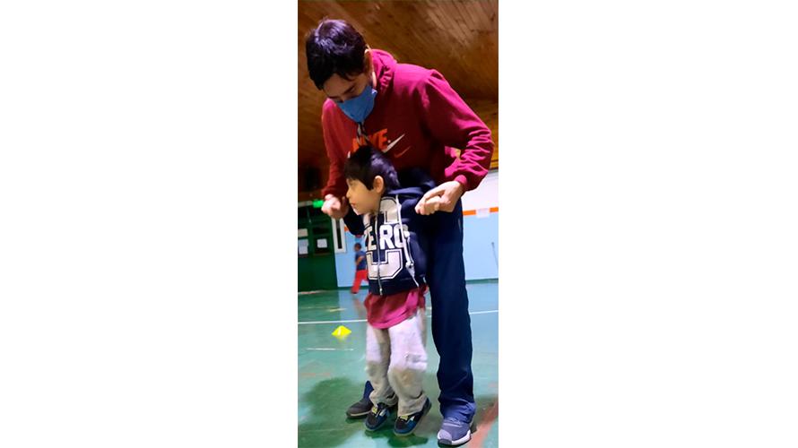 Diego Rosales hace historia en el deporte infantil adaptado provincial