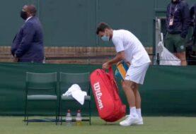 Londero se despidió de Wimbledon