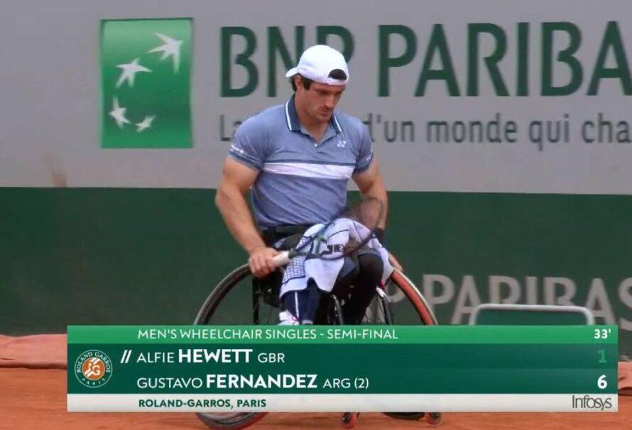 Gustavo Fernández quedó eliminado de Roland Garros