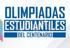 Este año se realizarán las olimpíadas estudiantiles del centenario