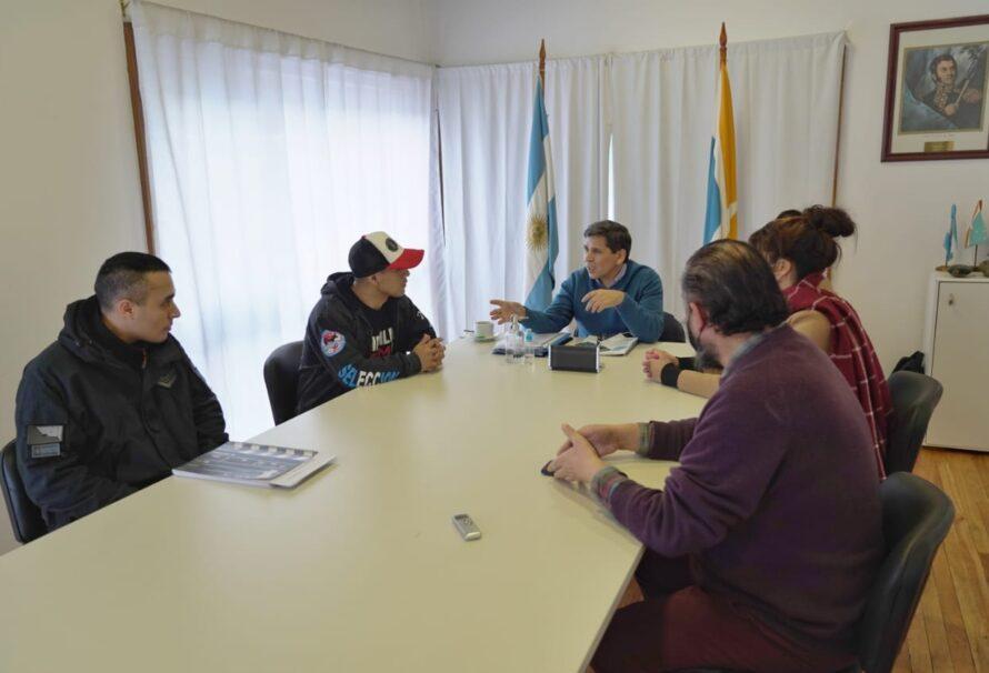 Pino confirmó el apoyo económico a deportista ushuaiense que participará en el mundial de Kickboxing
