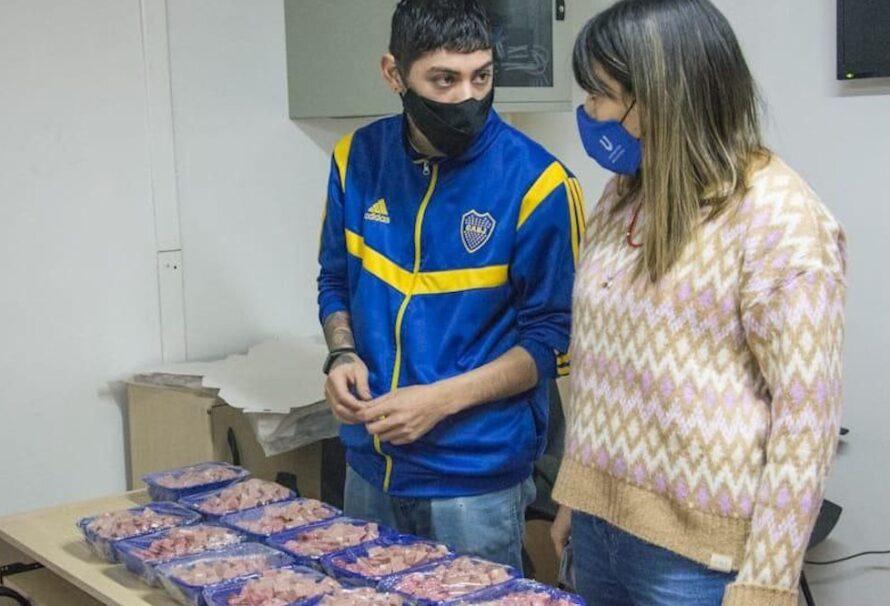 Autoridades del Instituto Municipal de Deportes participaron de un encuentro con los jóvenes del Club Juventud Unida