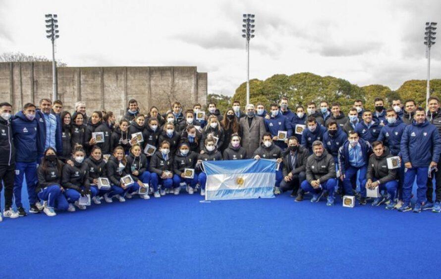 Atletas argentinos rumbo a Tokio