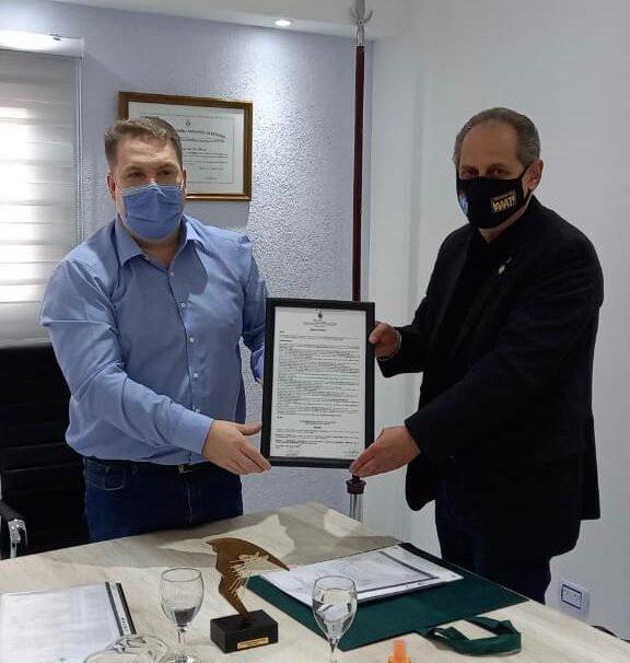 Von der Thusen declara de Interés Deportivo Municipal y Beneplácito la visita del Gran Master Horacio Noel Vidarte