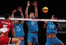 La selección argentina de vóley venció a Túnez en los Juegos Olímpicos