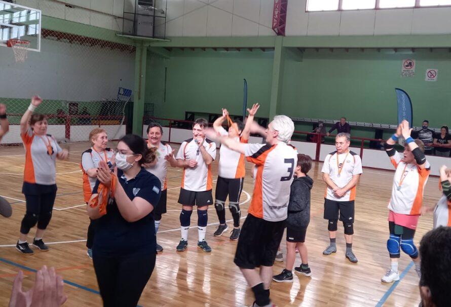 Newcom: El voley adaptado para adultos mayores tiene a sus campeones provinciales