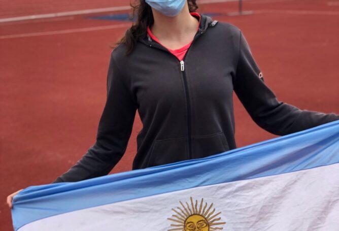 Renata Godoy disputa el oro sudamericano