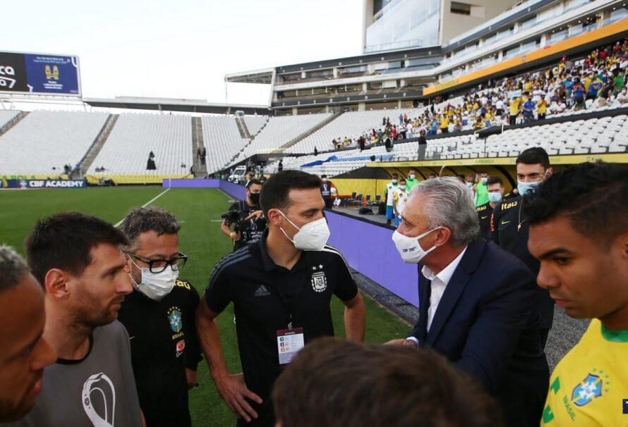 AFA presentó su descargo por los incidentes en Brasil