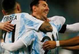 Euforia por la victoria, récord y celebración  para la Argentina