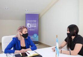 Trentino Martire se reunió con la árbitra Romina Gil