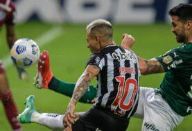 Empate entre Atlético Mineiro y el Palmeiras por la Copa Libertadores
