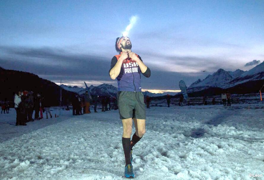 Guzmán se quedó con el Kupanaka Ushuaia Trail