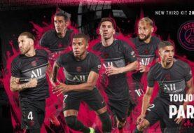 PSG presentó su camiseta alternativa