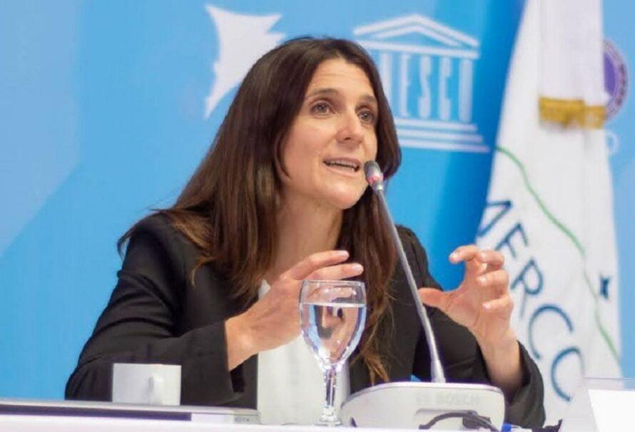 Inés Arrondo asumió como presidenta del ENARD