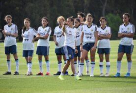 La Selección Femenina partió hacia México