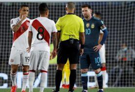 Argentina le ganó a 1 a 0 a Perú en el monumental
