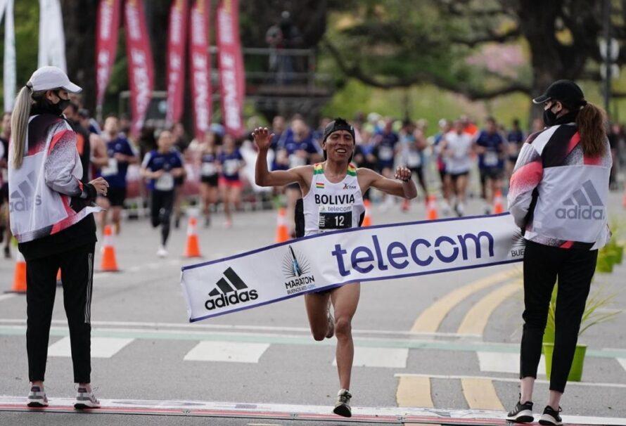 El boliviano Garibay ganó el Maratón Internacional de Buenos Aires