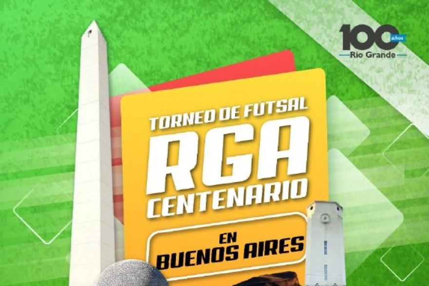 """Torneo futsal """"RGA Centenario"""" en Buenos Aires"""