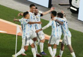 Argentina vs Perú en la Monumental